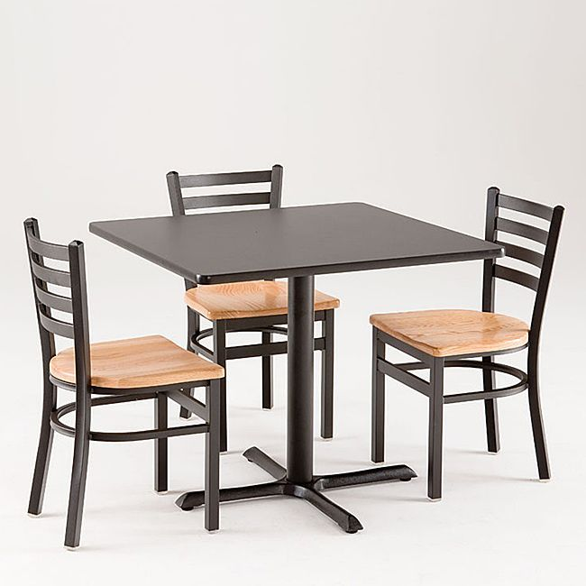 Commercial Dining Room Furniture Classy Cambridge 5Piece Commercial Dining Set Commercial Dining Set Design Inspiration