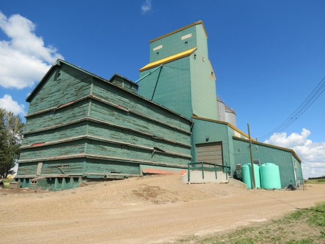 Grain elevator Delia AB
