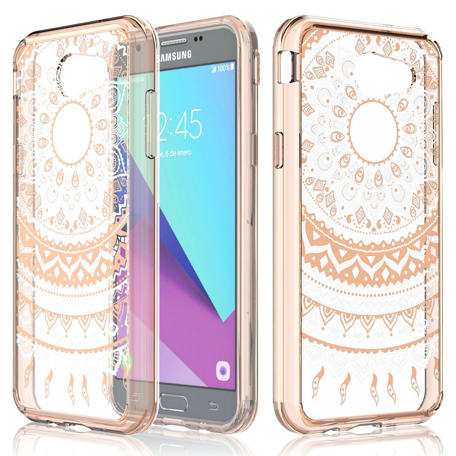 reputable site 3ba11 e043c Amazon.com: Case for Samsung Galaxy J3 Emerge / J3 2017 / J3 Prime ...