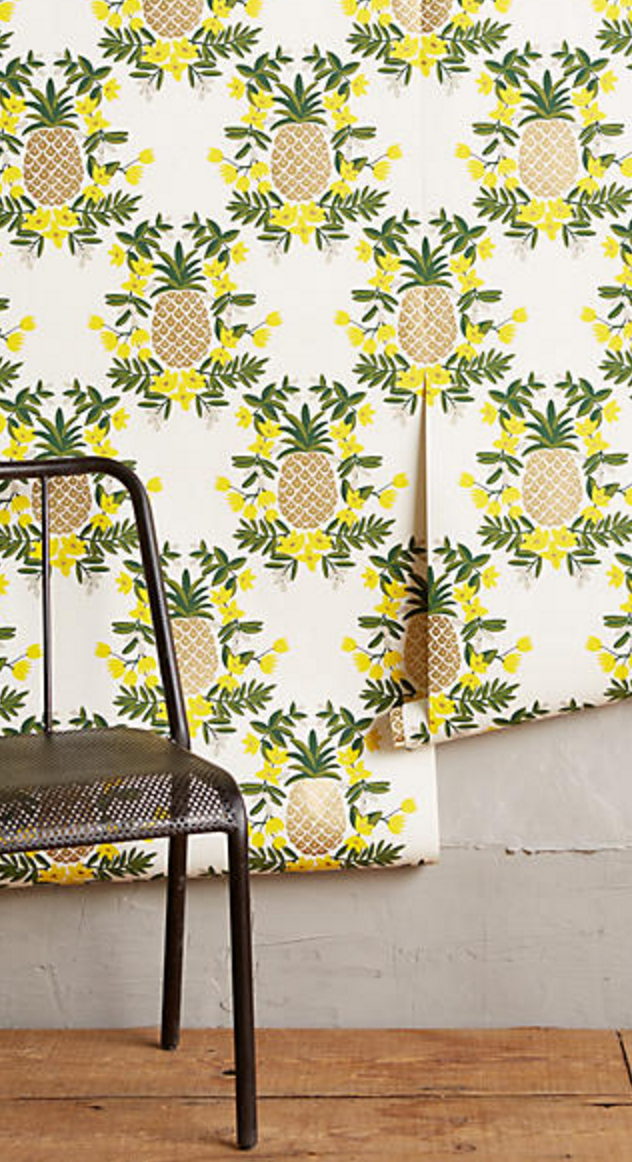Pineapple wallpaper | Yellow | Pinterest | Products, Wallpapers and Home