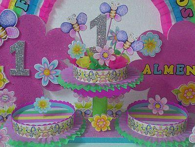 Decoracion de fiestas infantiles con flores centros de - Decoraciones para cumpleanos infantiles ...