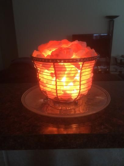 Himalayan Salt Lamp Home Depot Enchanting Wbm Himalayan 675 Inionic Crystal Natural Salt 911 Lbstall Inspiration Design