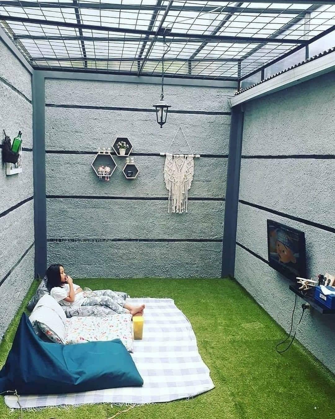 1 579 Likes 28 Comments Desain Rumah Minimalis Rumahminimalis Idn On Instagram Santuy Dulu Gaes Di 2020 Dekorasi Ruang Keluarga Desain Desain Rumah