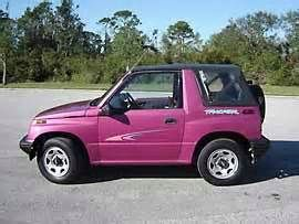 Magenta Geo Tracker Geo Tracker My Dream Car