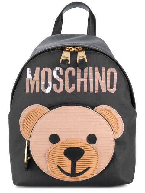 cf0c39239e MOSCHINO Toy Bear backpack. #moschino #bags #leather #backpacks ...