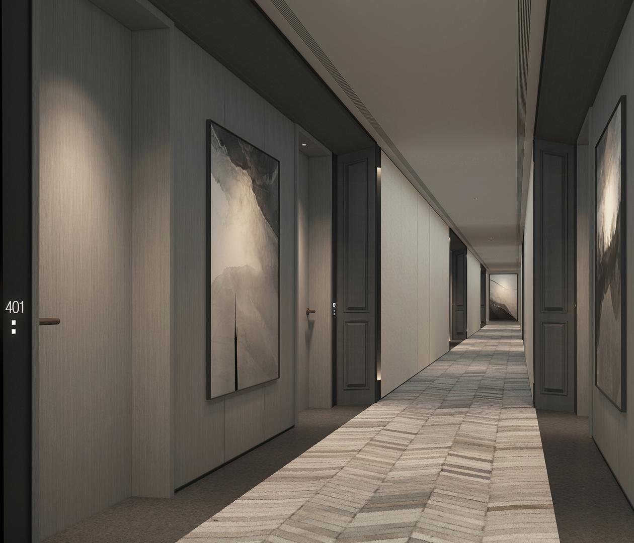 Image result for scda hotel in 2019 corridor design for Hotel corridor decor