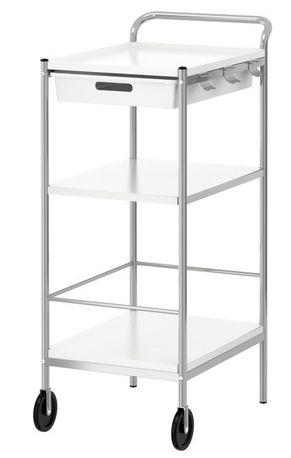 Great For Laminator And Scale Item 1 Bygel Utility Cart 29 99 Ikea Bygel Kitchen Island Cart Ikea Ikea Bar