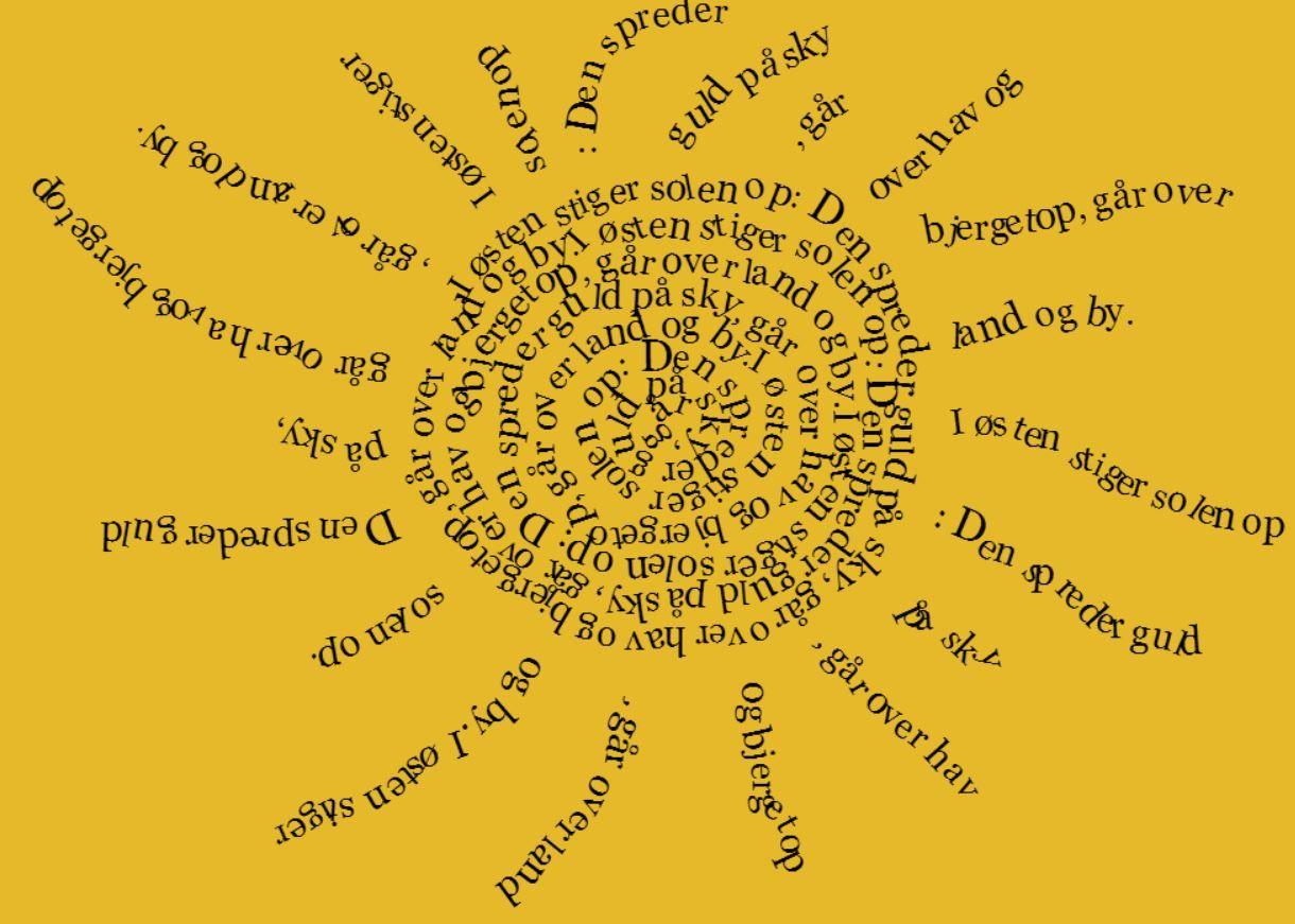 Visual poetry - Det fedeste (gratis) onlineværktøj til digital tegneleg med sprog, tekst og ...