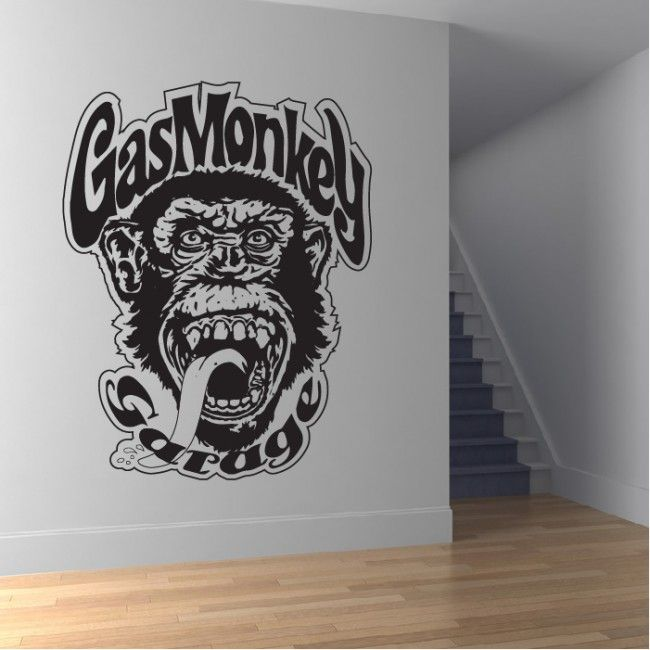 Garage Wall Art gas monkey garage wall sticker gas monkey garage wall art | gas