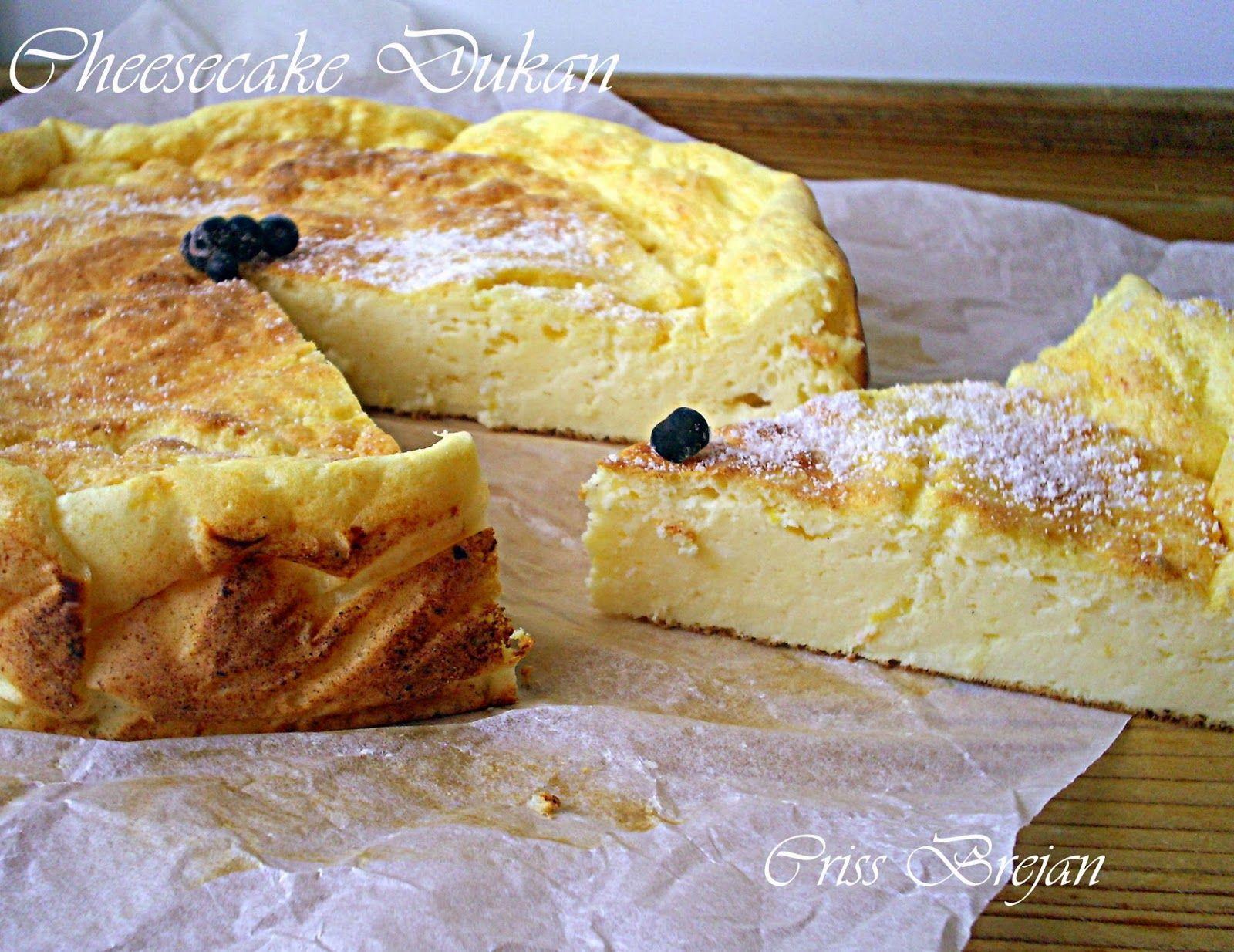 Arome si culori - Dukan: Cheesecake Dukan