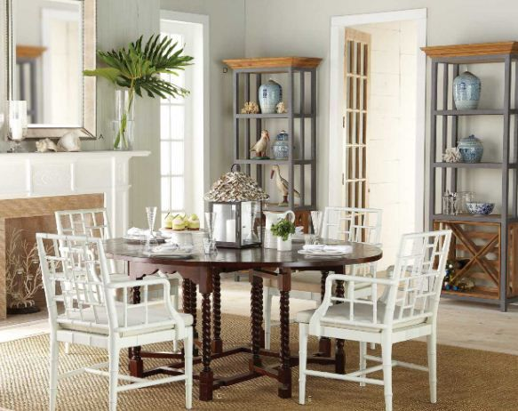 Remarkable Love The Contrast Of The White Chinese Chippendale Chairs Gmtry Best Dining Table And Chair Ideas Images Gmtryco