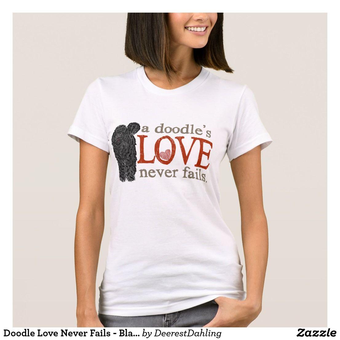 Tee Shirt Clothing A Goldendoodles Love Never Fails Shirt