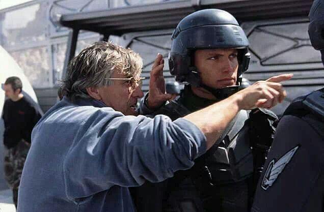 Casper Van Dien in Starship Troopers. :) heart throb!