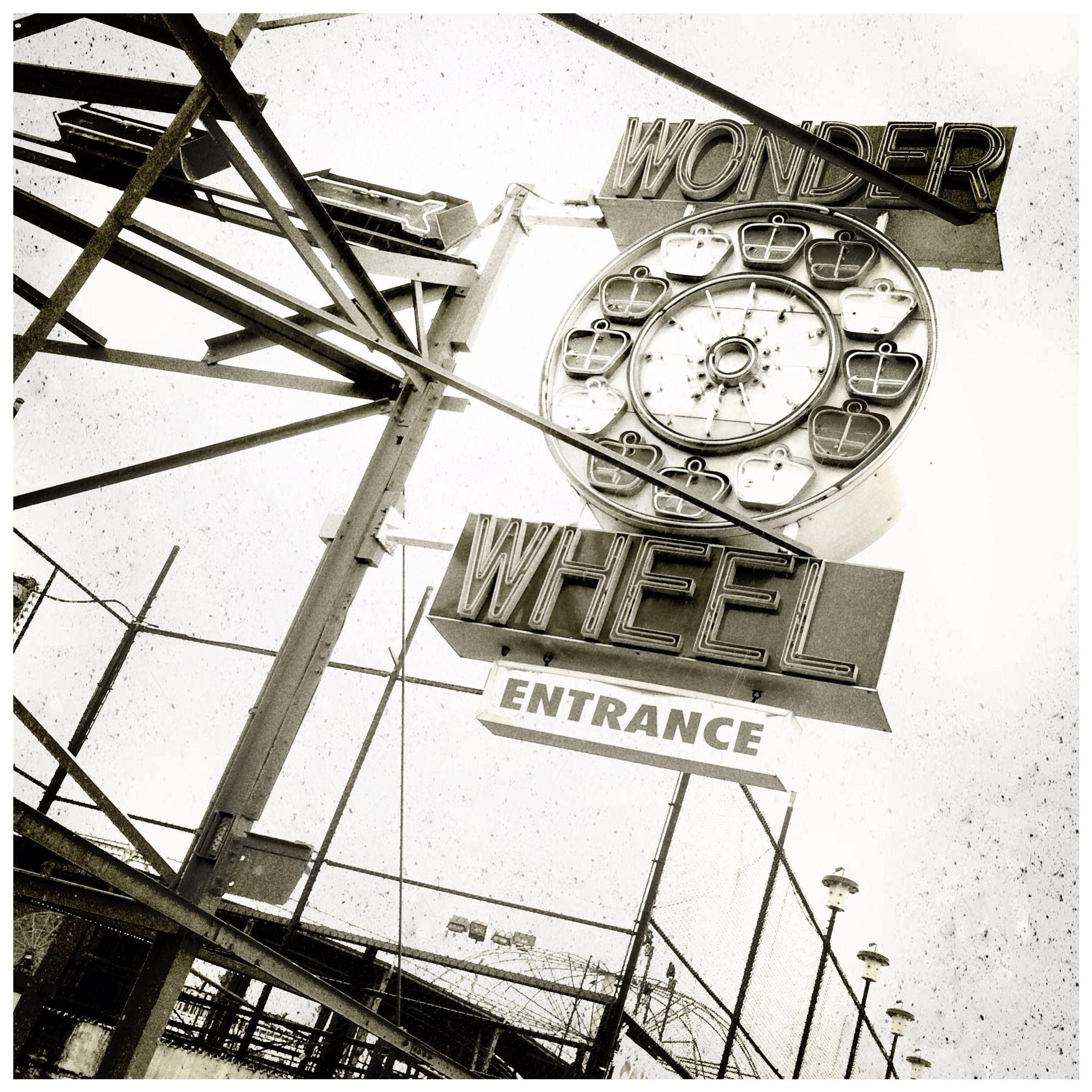 iPhone fotografie op Coney Island NYC (gemaakt met Camera+)