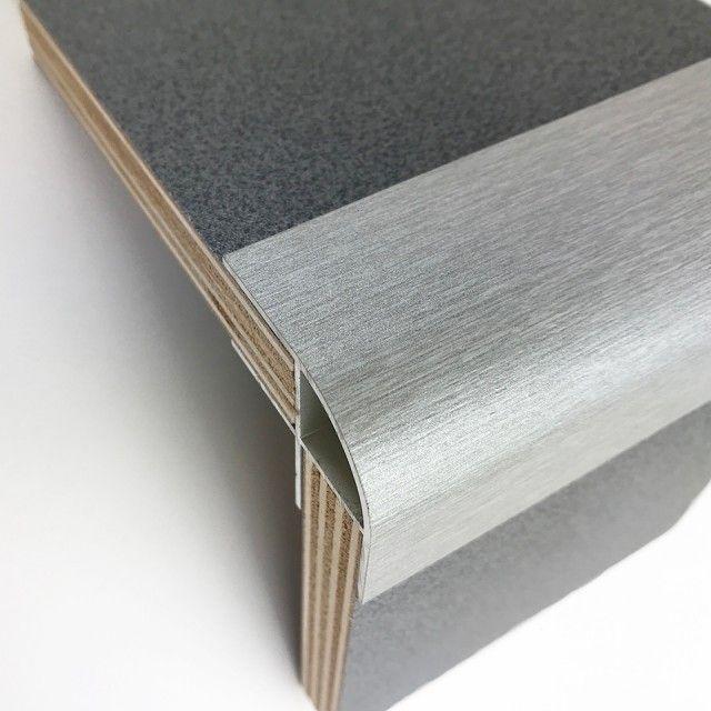 Photo of Aluminium Eckprofil für 15mm Sperrholz (Morland) #furnitu …