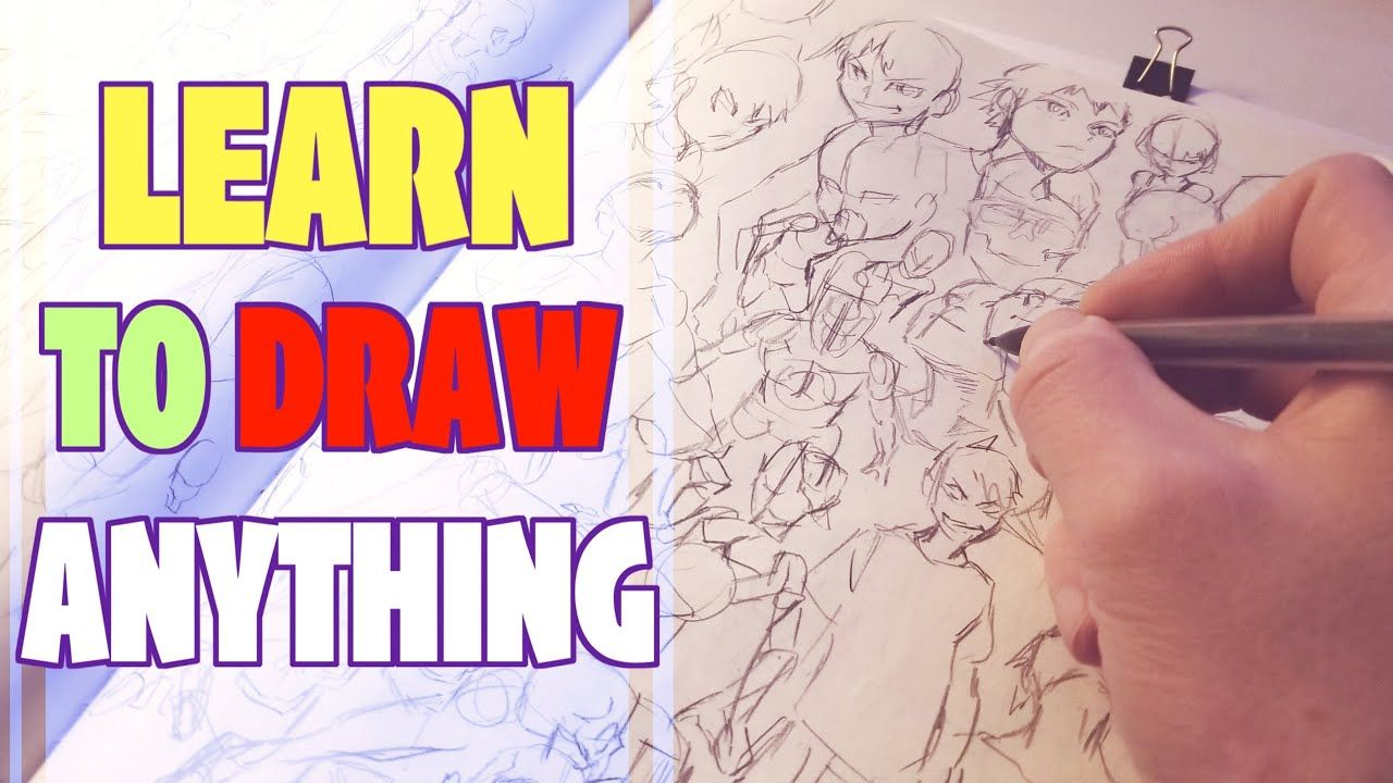 The Fastest Way To Get Better At Drawing How To Draw Anime Art Tutorial Drawings Drawing Anime Bodies
