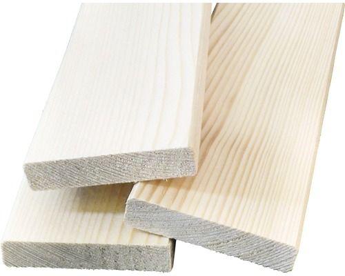 Glattkantbrett Fichte gehobelt 80x18x2500 mm vllt zum Leiter-Schuhregal
