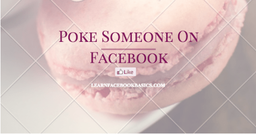 What does poking mean on Facebook sexually? | How do I