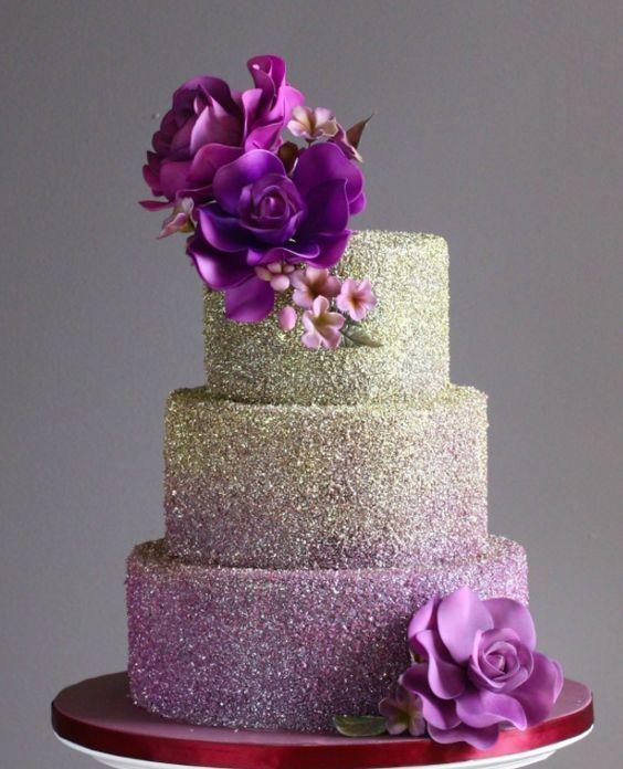 Wedding Cake Bling Beautiful Cakes That Sparkle Shine: Wedding Cake Inspiration - I Do! Wedding Cakes