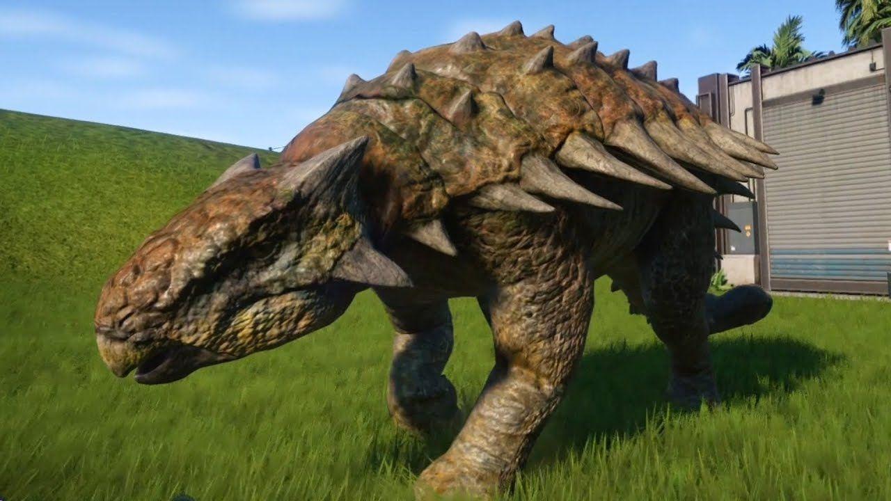 Jurassic World Evolution - Ankylosaurus (Wetland Skin