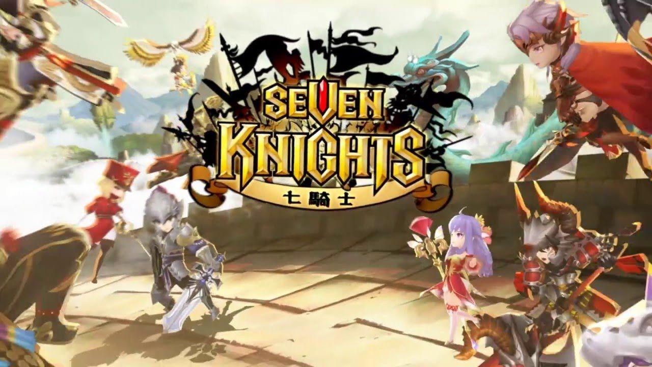 七騎士 seven knights 30 《Lucky...抽到新英雄尤神,各位覺得好用嗎?小編覺得貫穿技能1次打3隻,還不錯用喔!》《戴倫斯終...