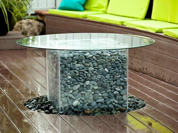 Gartenbrunnen Selber Bauen Glastisch Flusssteine Bauanleitung Garden Brunnen Garten Yard Crashers Wasserspiel Garten