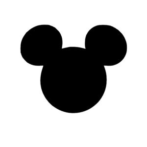 Black Mickey Head Clip Art At Clker Com Vector Clip Art Online Mickey Mouse Silhouette Disney Mickey Ears Disney Tattoos Mickey