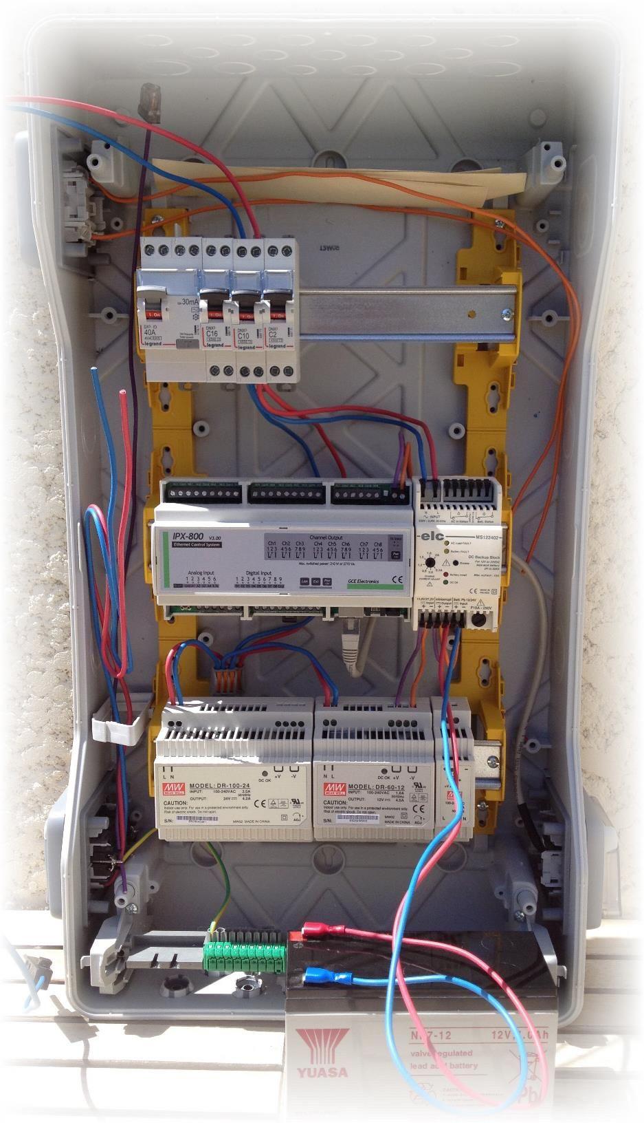 Introduction pourquoi un article sur l int gration d une carte ipx800 dans un tableau lectrique - Monter un tableau electrique ...