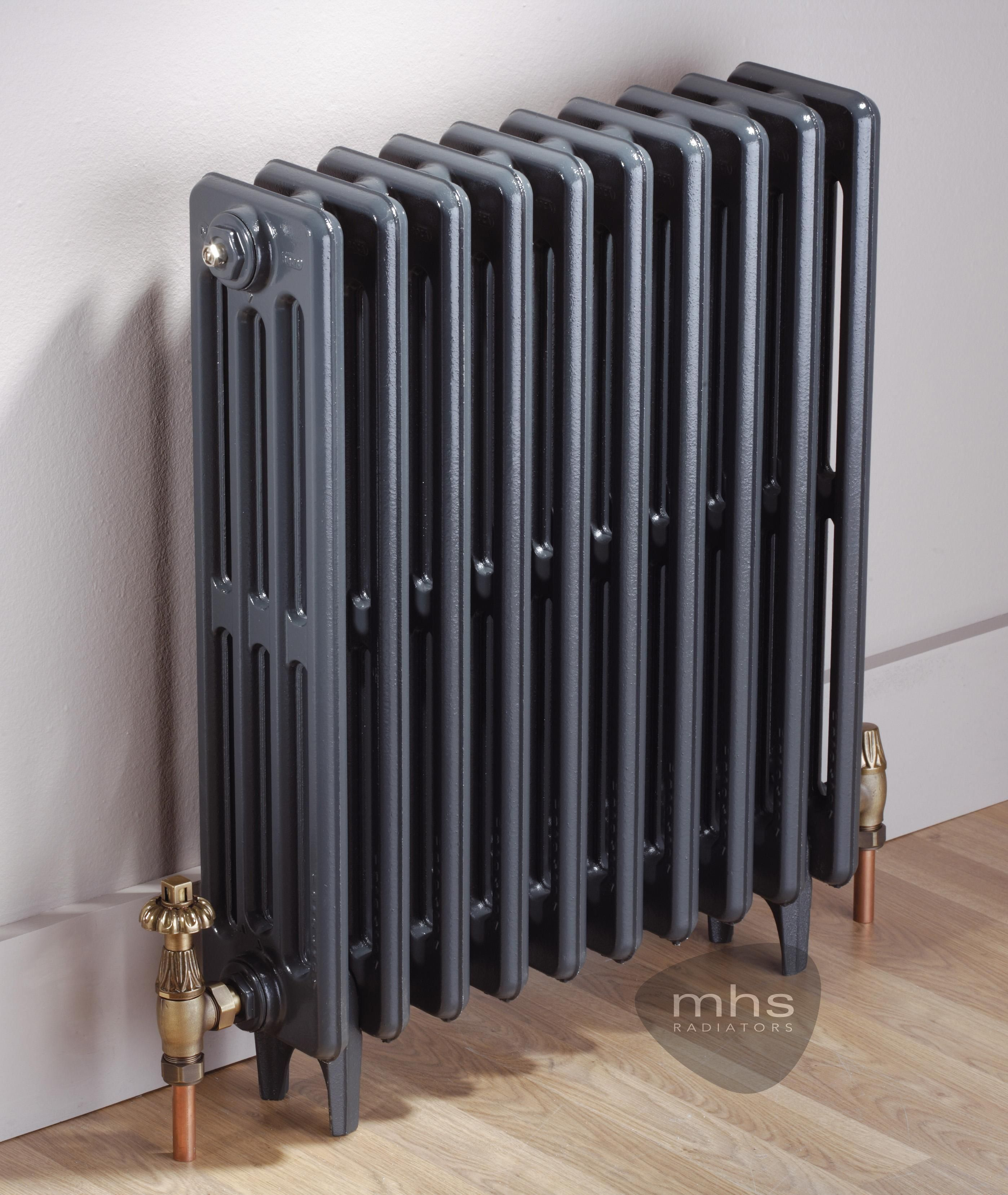 Clasico 4 Column 720mm Height Cast Iron Radiator By MHS Radiators Cast Iron  Radiators   Period