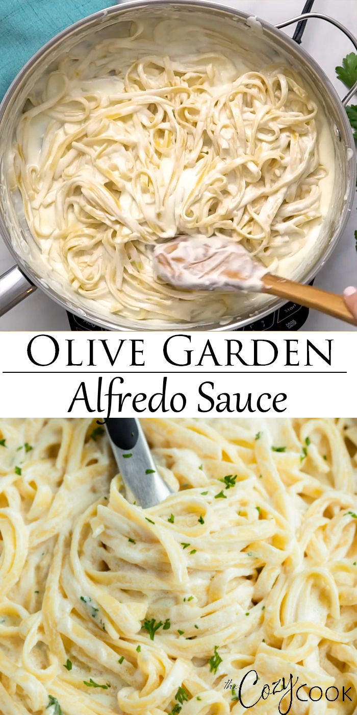 Olive Garden Alfredo Sauce in 2020 | Recipes, Restaurant ...