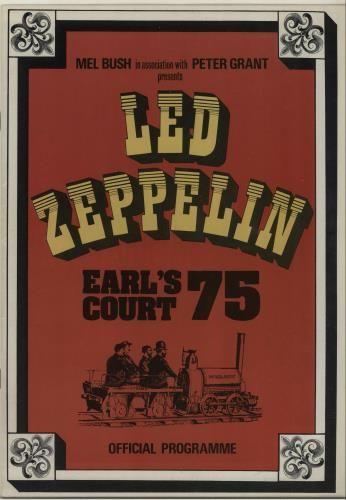 LED ZEPPELIN Earl's Court 75:
