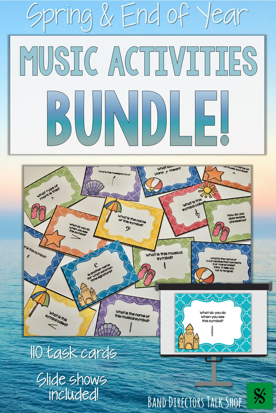 Spring Music Activities End Of Year Music Lessons Bundle Summer