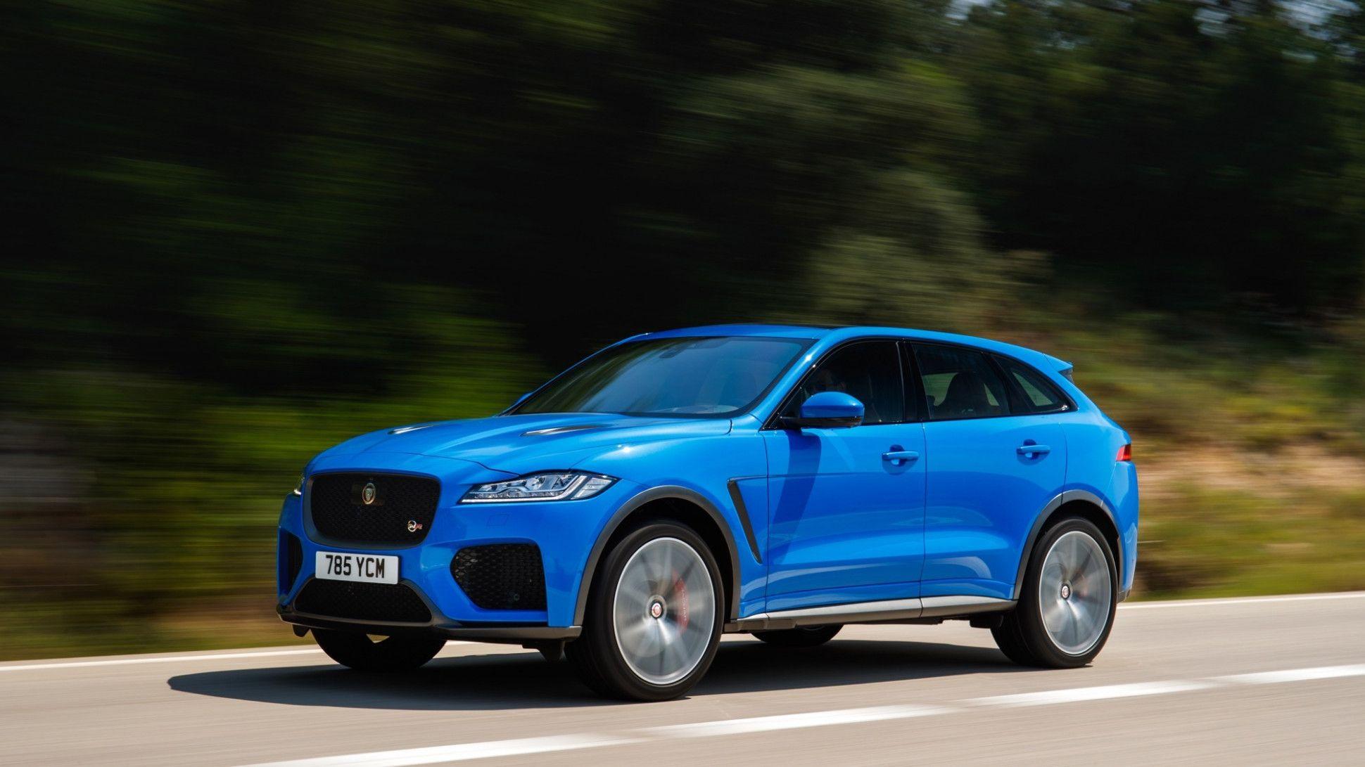 Jaguar F Pace 2020 Model Year Picture