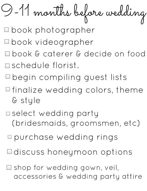 Wedding Planning Checklists December February To Do List For Scott And I