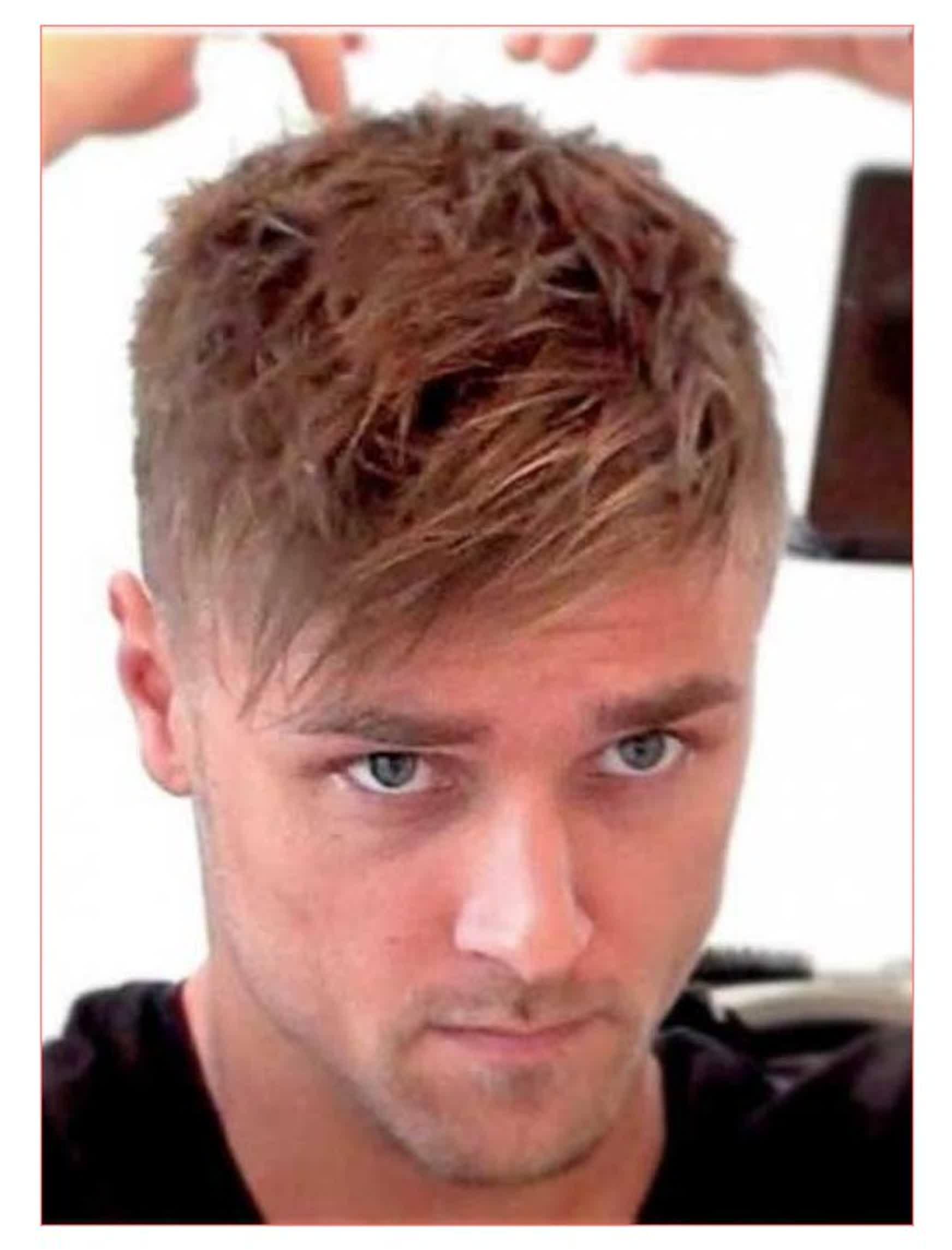 Frische Frisuren für große Jungs - Frisur  Mens hairstyles short