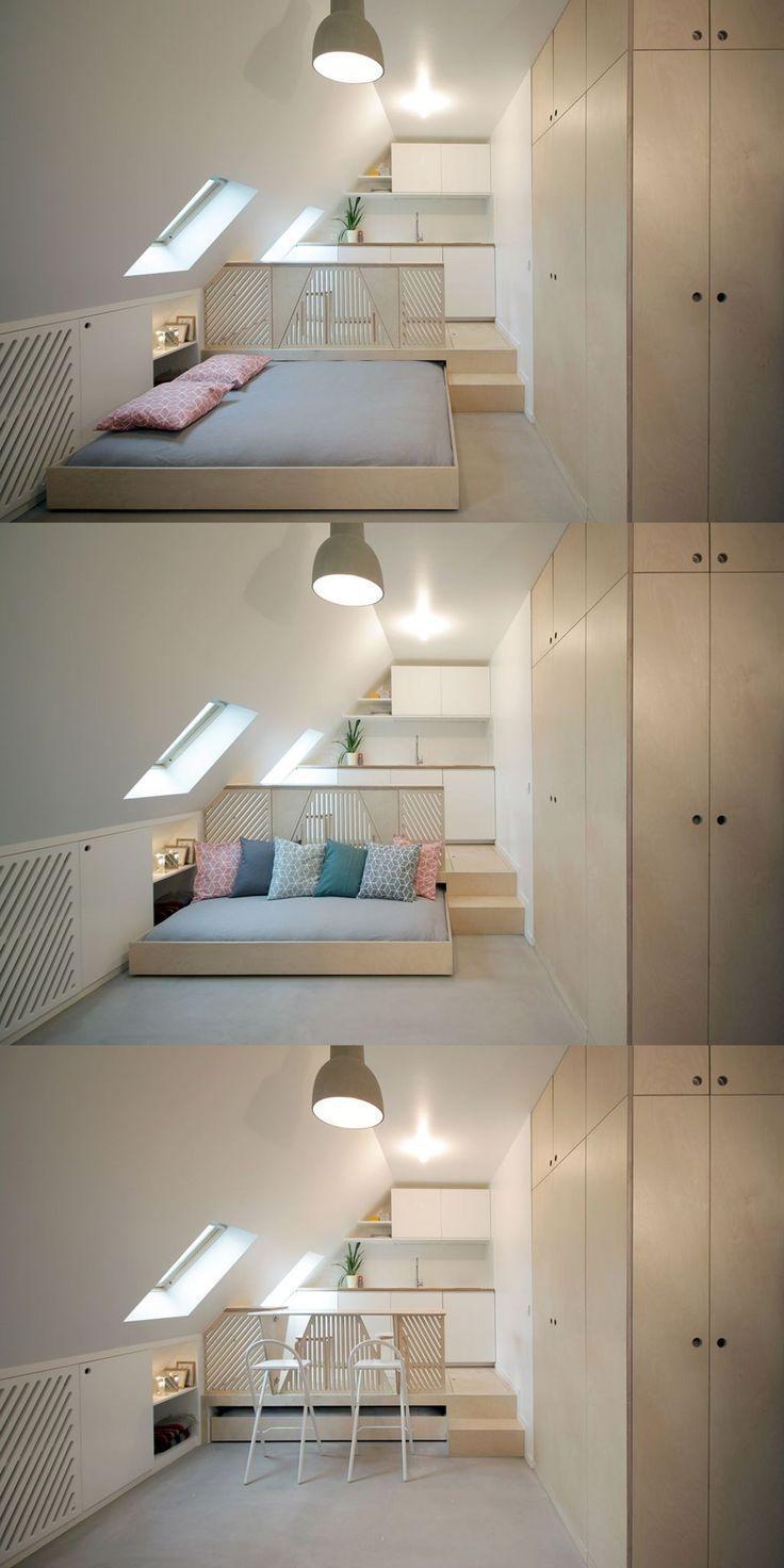 Photo of 7 eindrucksvolle Tipps und Tricks: Gemütliche Dachgeschoss-Ideen für#design #m…