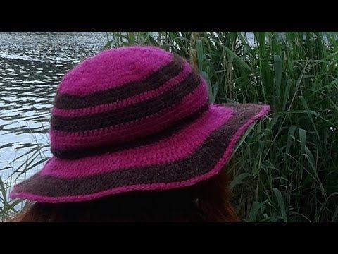 Sommerhüte für heiße Tage zaubern | crochet | Pinterest | Sommerhut ...
