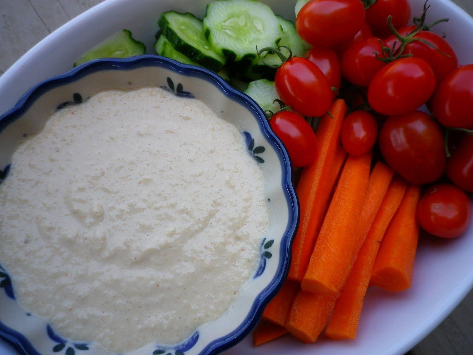 Zucchini hummus. Sub sesame oil for tahini