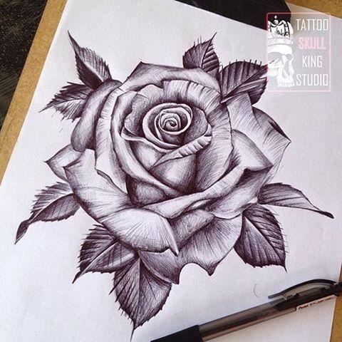 Resultado De Imagem Para Desenho Realista De Rosa Pink Drawing