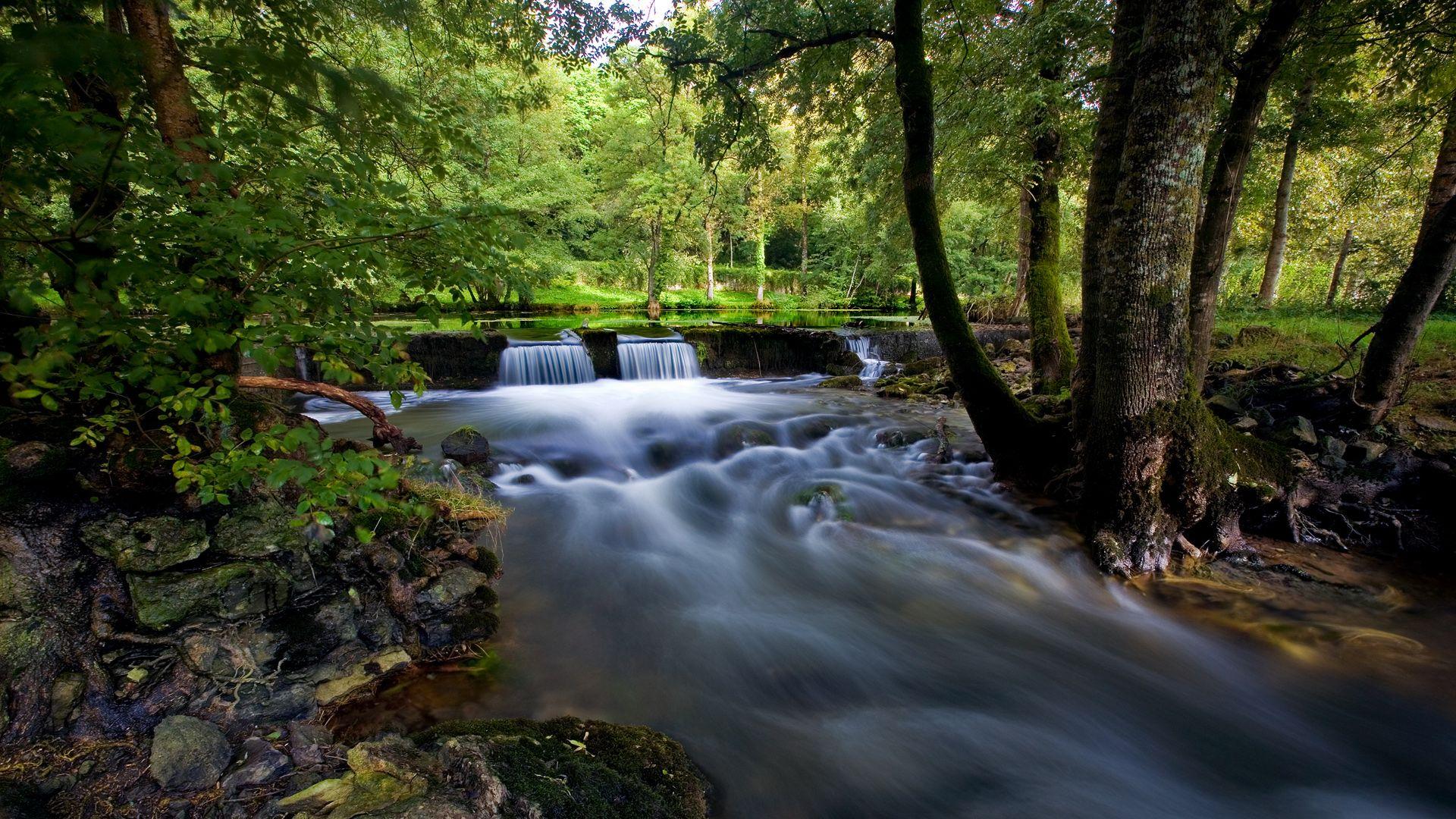 1080p Hd Wallpapers Landscape Waterfall Hd Wallpaper