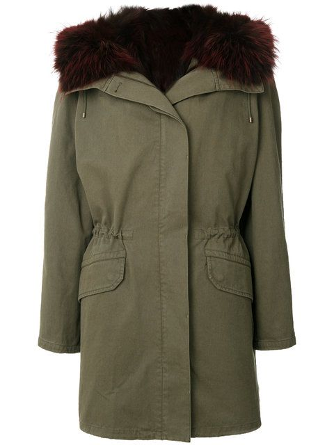 Comprar Army Yves Salomon abrigo estilo parka con forro de pelo. | ropa de  abrigo (parkas y trencas) | Pinterest | Estilo parka, Salomón y Abrigos