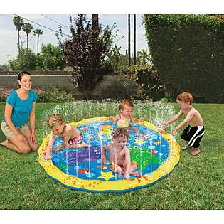 Clearwater Sprinkle N Splash Play Mat 9 99 Kmart