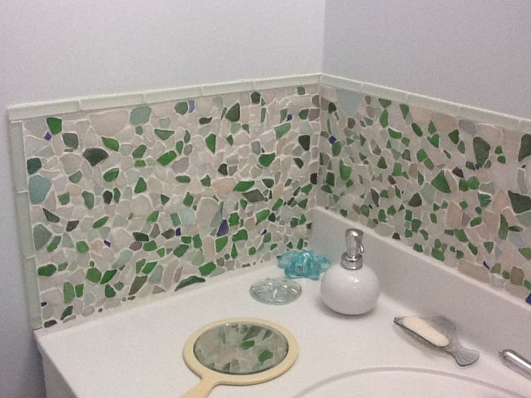 15 Best Sea Glass Backsplash Tile Collections For Amazing Kitchen