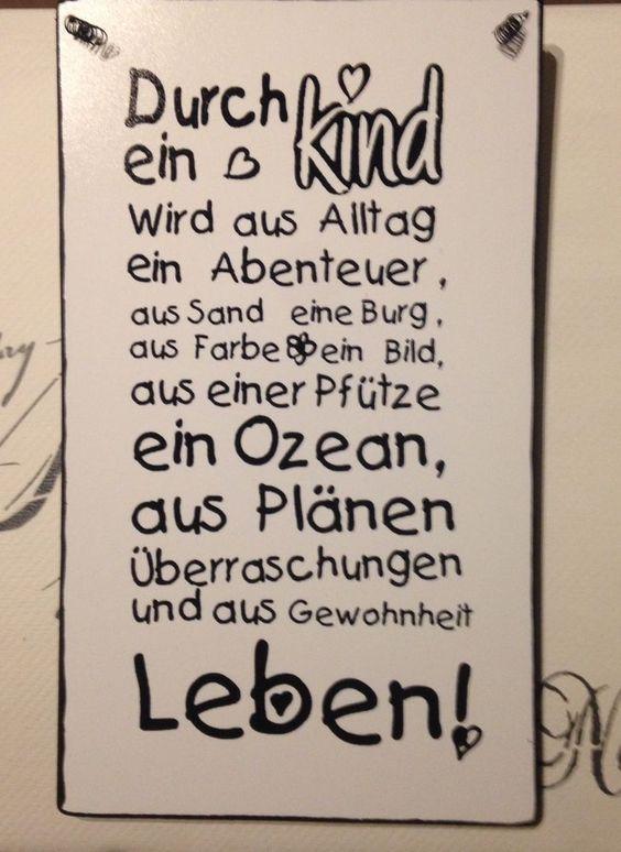 Pin Von Lotte Ste Auf Spruche Spruche Spruche Zur Geburt The Words