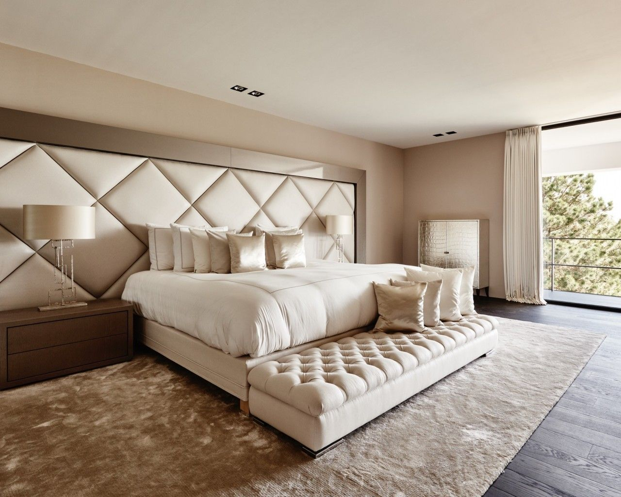 modern luxurious master bedroom. The Netherlands / Private Residence Bed Room Eric Kuster Metropolitan Luxury Modern Luxurious Master Bedroom R