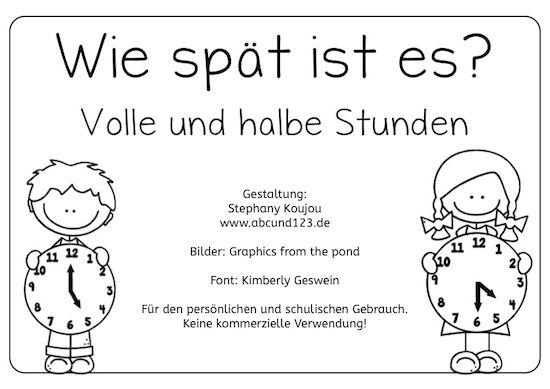 wie sp t ist es deutsch pinterest uhrzeit grundschule unterricht schule und mathe. Black Bedroom Furniture Sets. Home Design Ideas