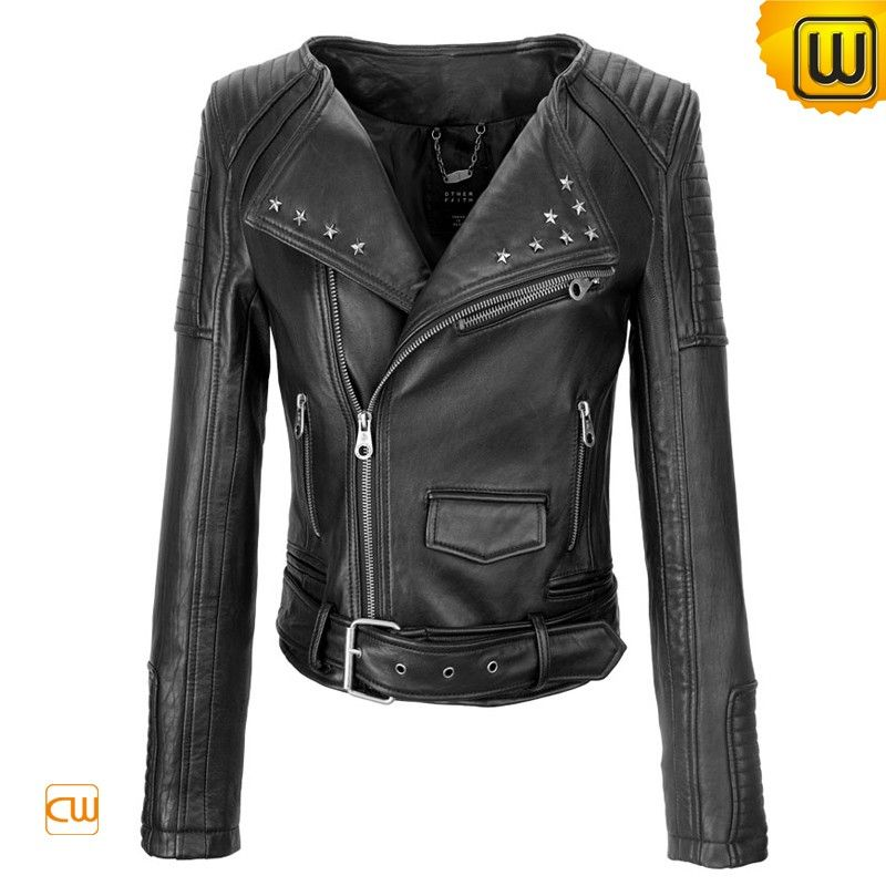 black leather moto jacket women's | Gommap Blog