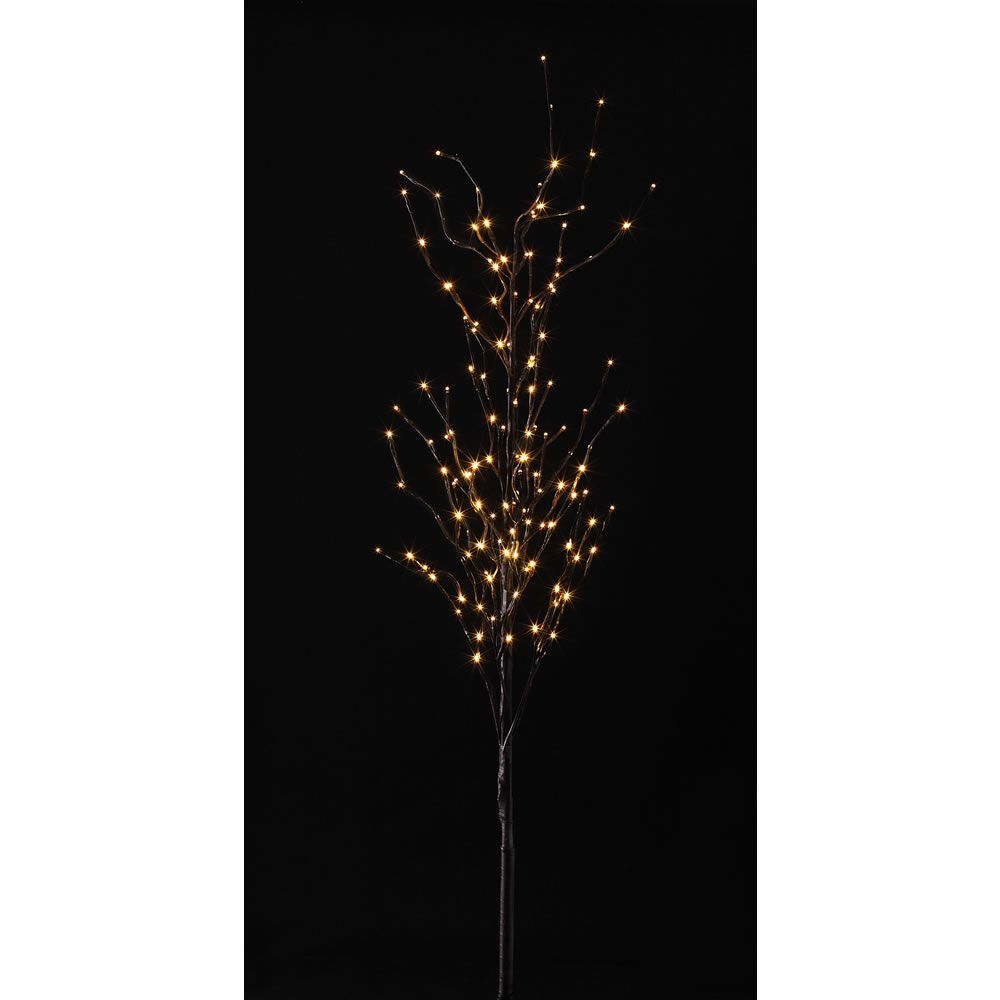 wilko pre lit twig tree 5ft 152cm at hallway. Black Bedroom Furniture Sets. Home Design Ideas
