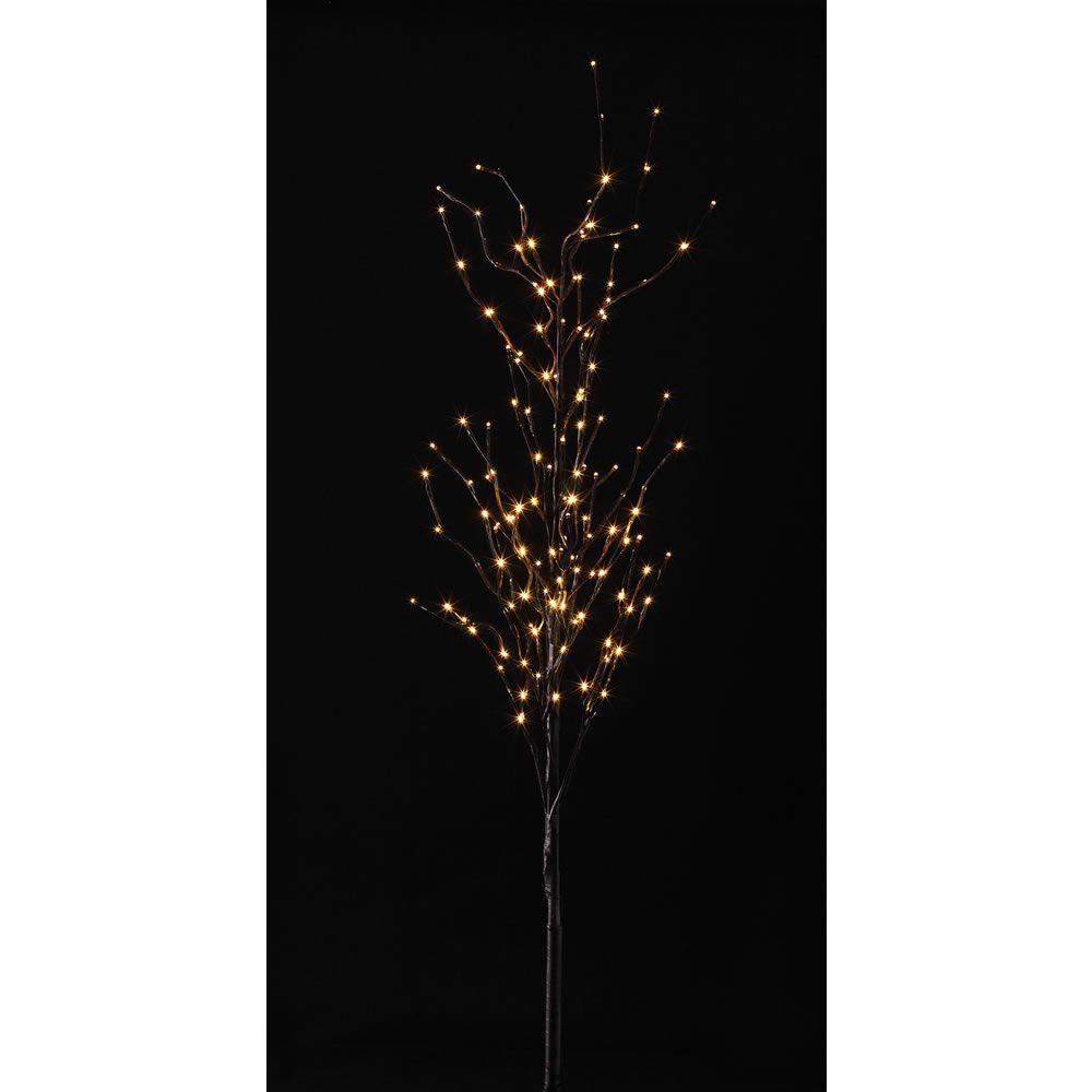 wilko pre lit twig tree 5ft 152cm at hallway. Black Bedroom Furniture Sets. Home Design Ideas