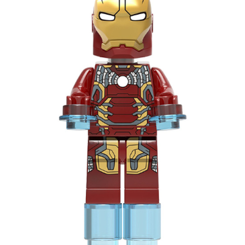 Custom Marvel Super heroes minifigures ironman on lego bricks The Controller